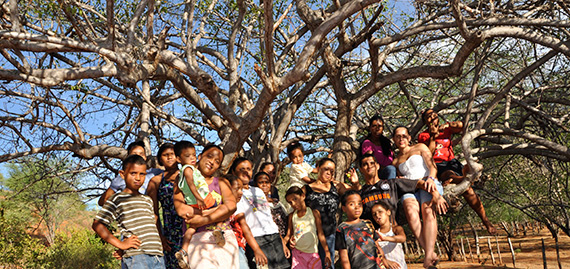 Comunidade ligada à Cooproaf (Bahia)